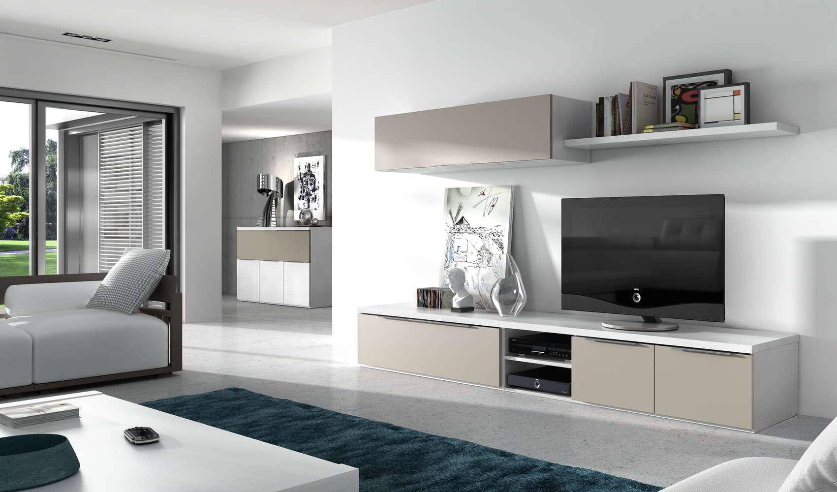 Muebles paco caballero ofertas del mueble for Comedores modernos color blanco