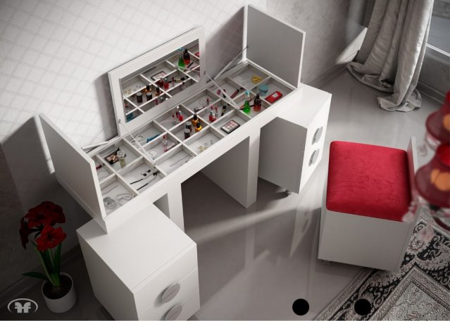 Muebles paco caballero mueble auxiliar - Tocador moderno dormitorio ...