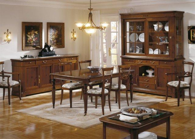 Muebles paco caballero muebles de comedor for Comedores redondos clasicos