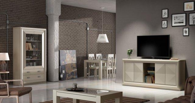 Muebles De Comedor En Murcia. Great Mesa Centro Blanco Brillo With ...