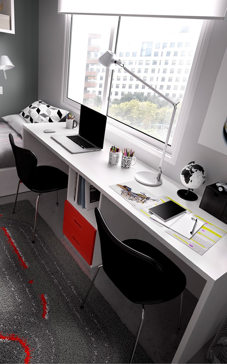 Muebles paco caballero dormitorio juvenil for Muebles de oficina juveniles