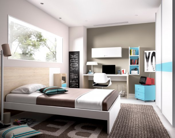 Muebles paco cabalero tu tienda de muebles for Dormitorio matrimonio joven