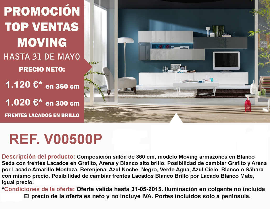 Promoción Top Ventas Moving