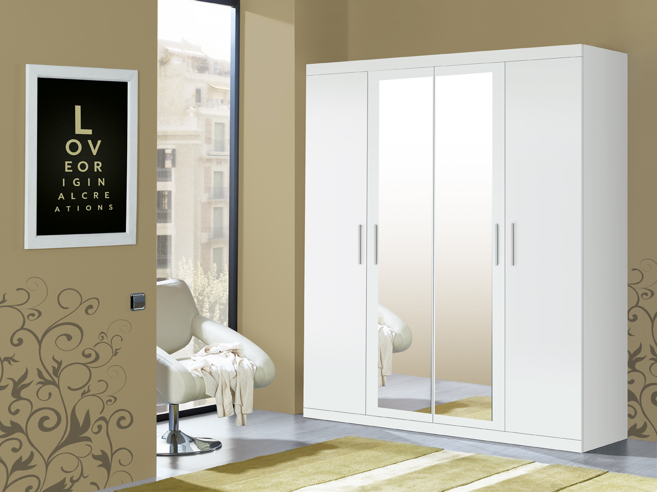 Muebles paco caballero ofertas del mueble for Armarios dormitorio matrimonio