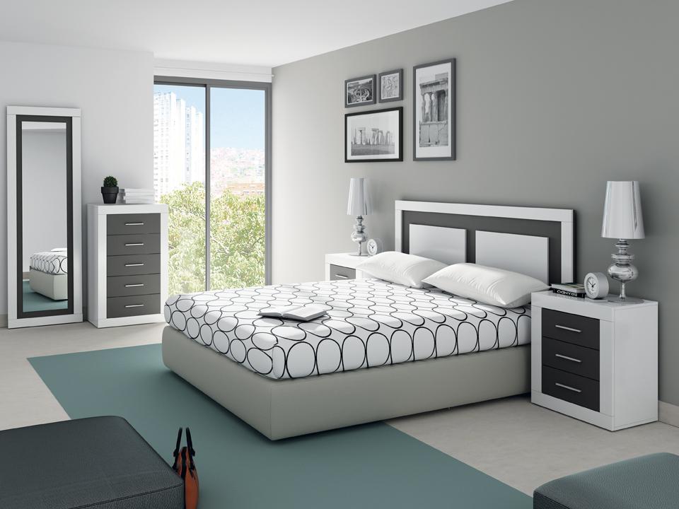Cabezal de dormitorio m s 2 mesillas for Muebles en almeria ofertas