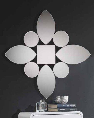 Muebles paco caballero mueble auxiliar for Espejos con formas originales