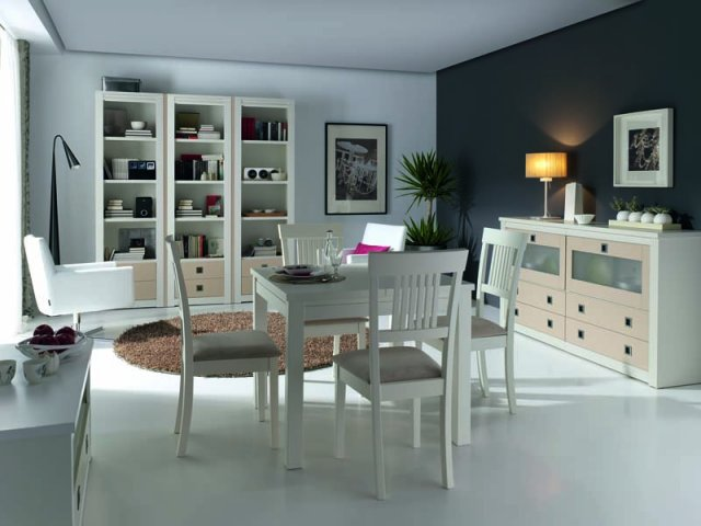 Muebles paco caballero muebles de comedor for Comedores economicos