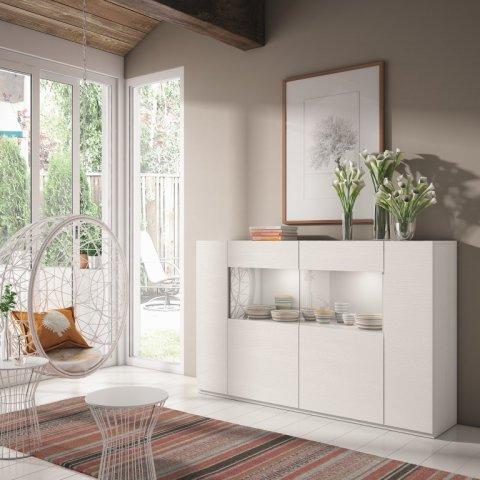 Muebles paco caballero muebles de comedor for Aparadores blancos modernos