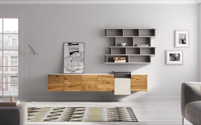 Muebles paco caballero muebles de comedor for Mueble salon colgado