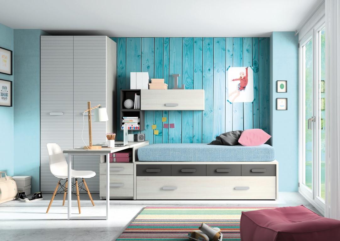 Muebles paco caballero dormitorio juvenil - Dormitorios juveniles almeria ...
