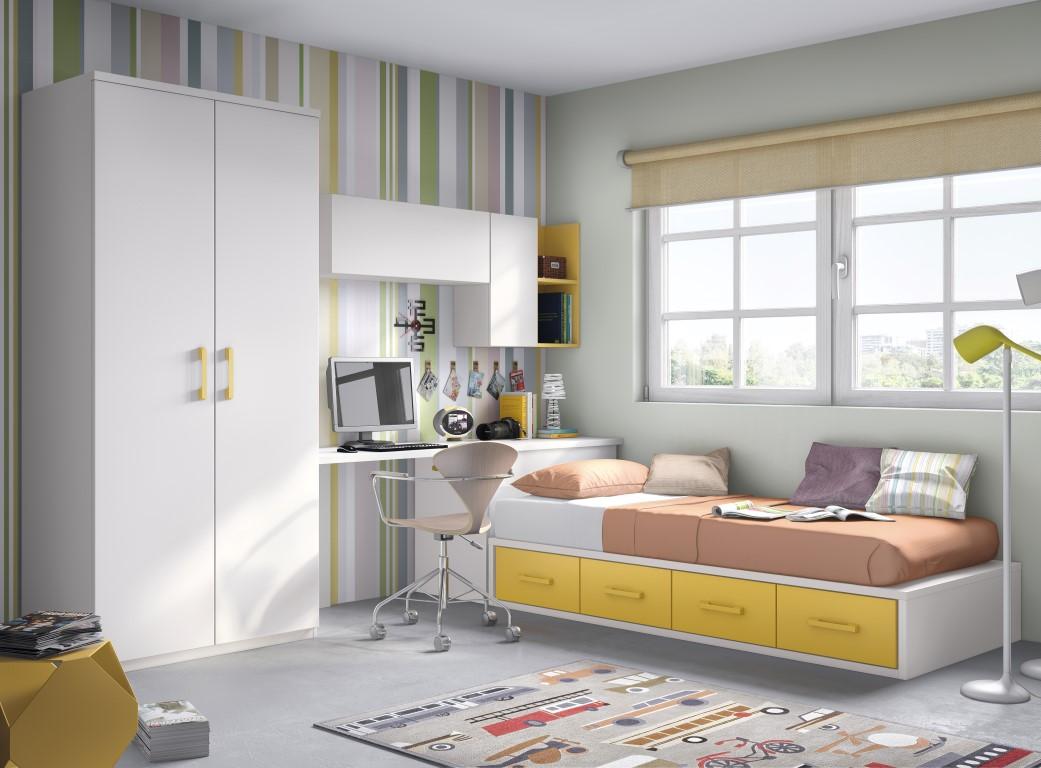Muebles paco caballero dormitorio juvenil - Formas muebles juveniles ...