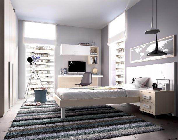 Muebles paco caballero dormitorio juvenil for Dormitorio matrimonio joven