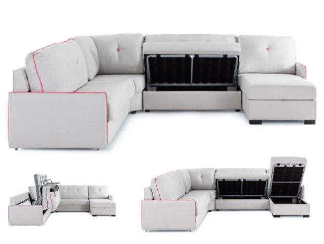 Muebles paco caballero sofas camas for Sofa cama cheslong