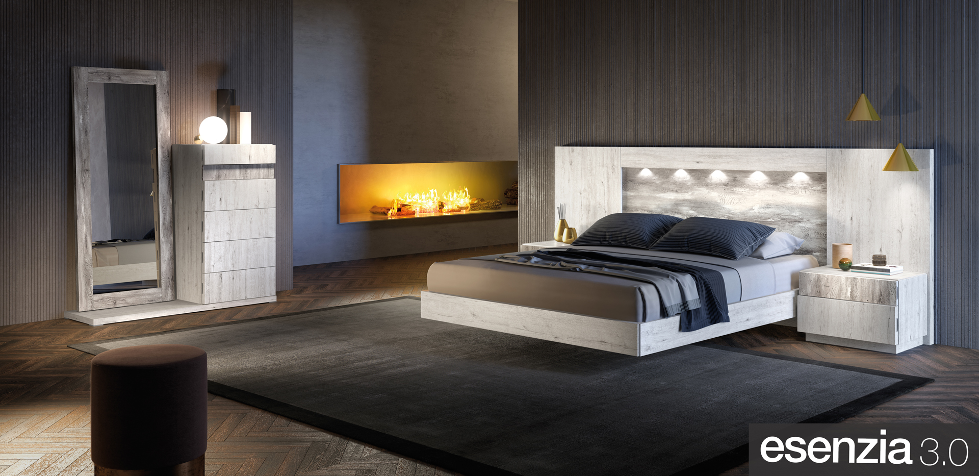 Dormitorios y Armarios - Esenzia 3.0