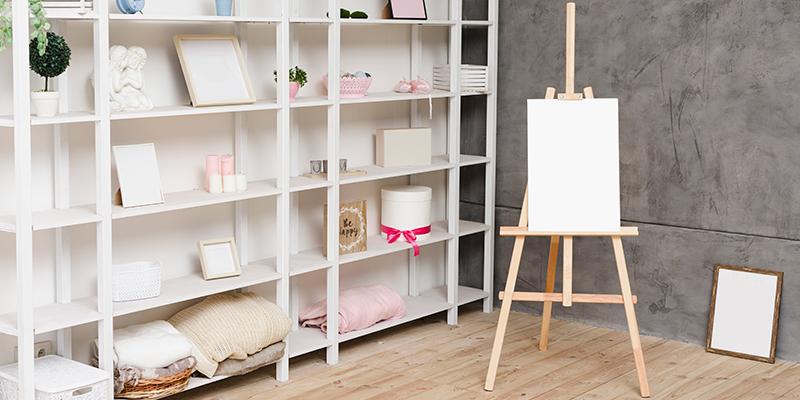 Consejos para organizar una estantería