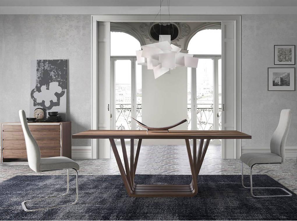 Mesas y sillas de comedor contemporáneo