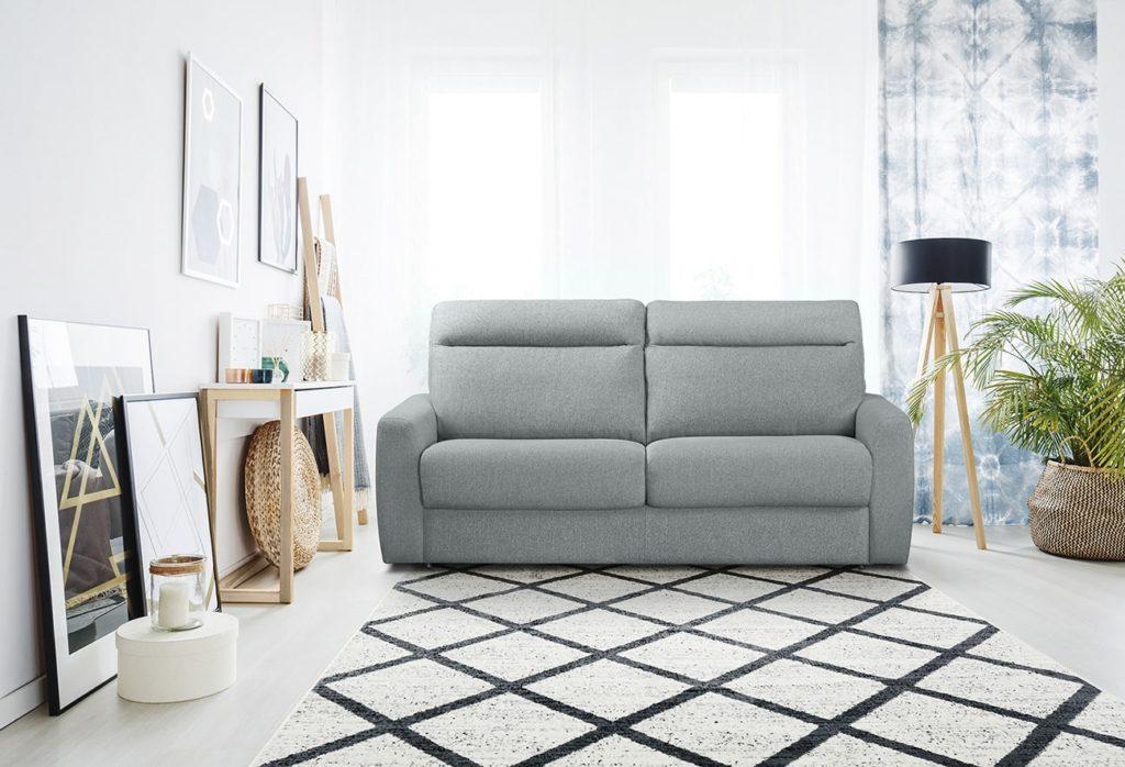 Sofá-cama moderno en Muebles Paco Caballero