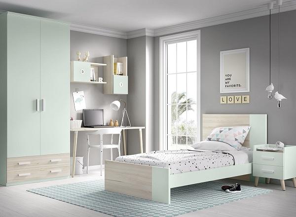 Promoción dormitorio juvenil- Muebles Paco Caballero